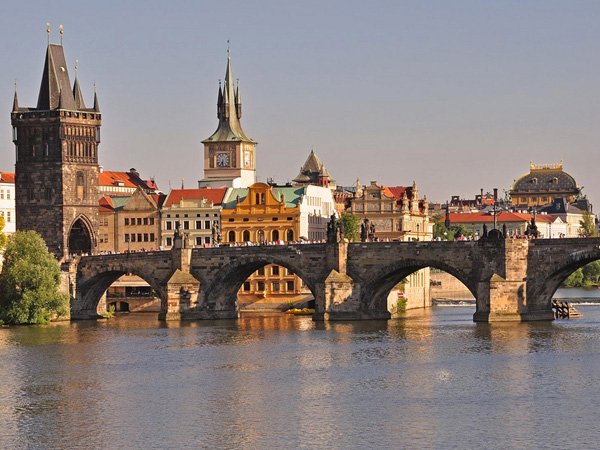 Czech Republic, Prague, Charles Bridge