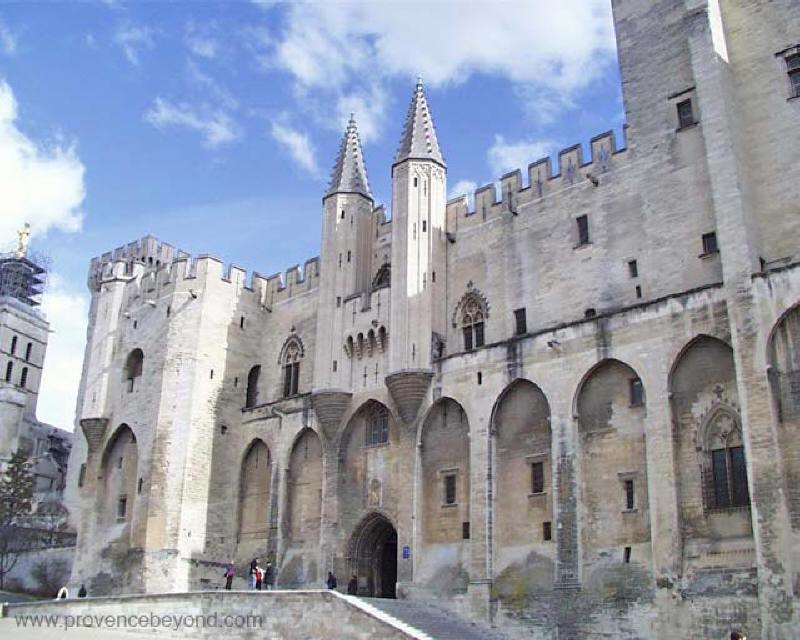 France, Avignon, Pope Palace