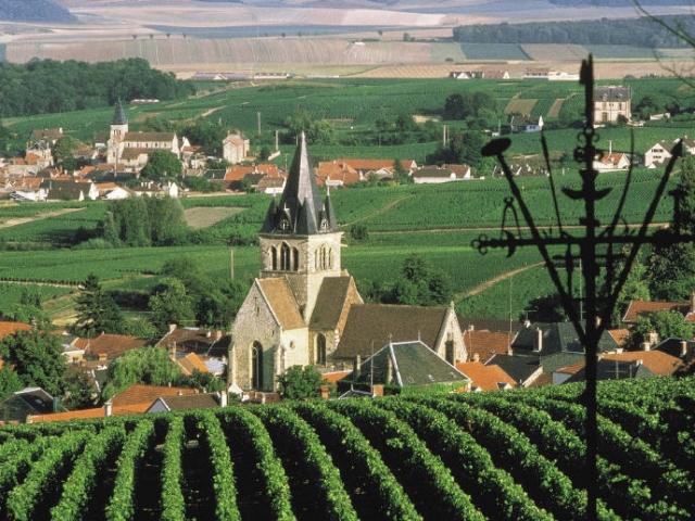 France, Champagne, Ville Dommange