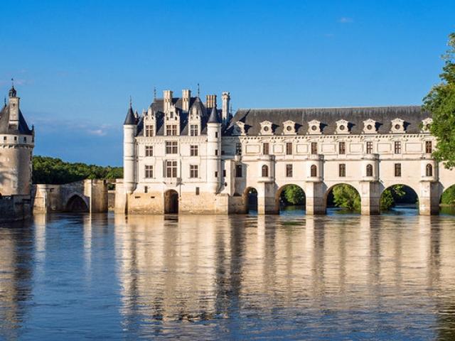 France, Loire Valley, Château de Chenonceau (The Lady's Castle)