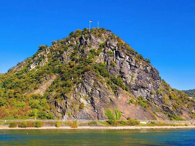 Germany, Rhine Valley, Lorelei Rock