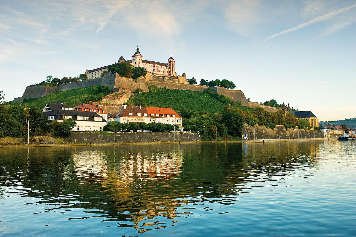 Germany, Wurzburg, Marienberg Fortress