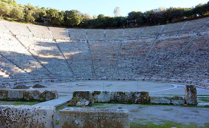 Greece, Epidaurus, Sanctuary of Asklepios