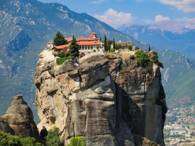 Glories of Greece, The Monasteries Of Meteora, Meteora, Greece