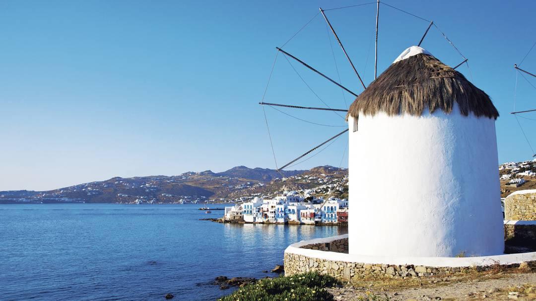 Greek Island Hopper, Mykonos, Greece