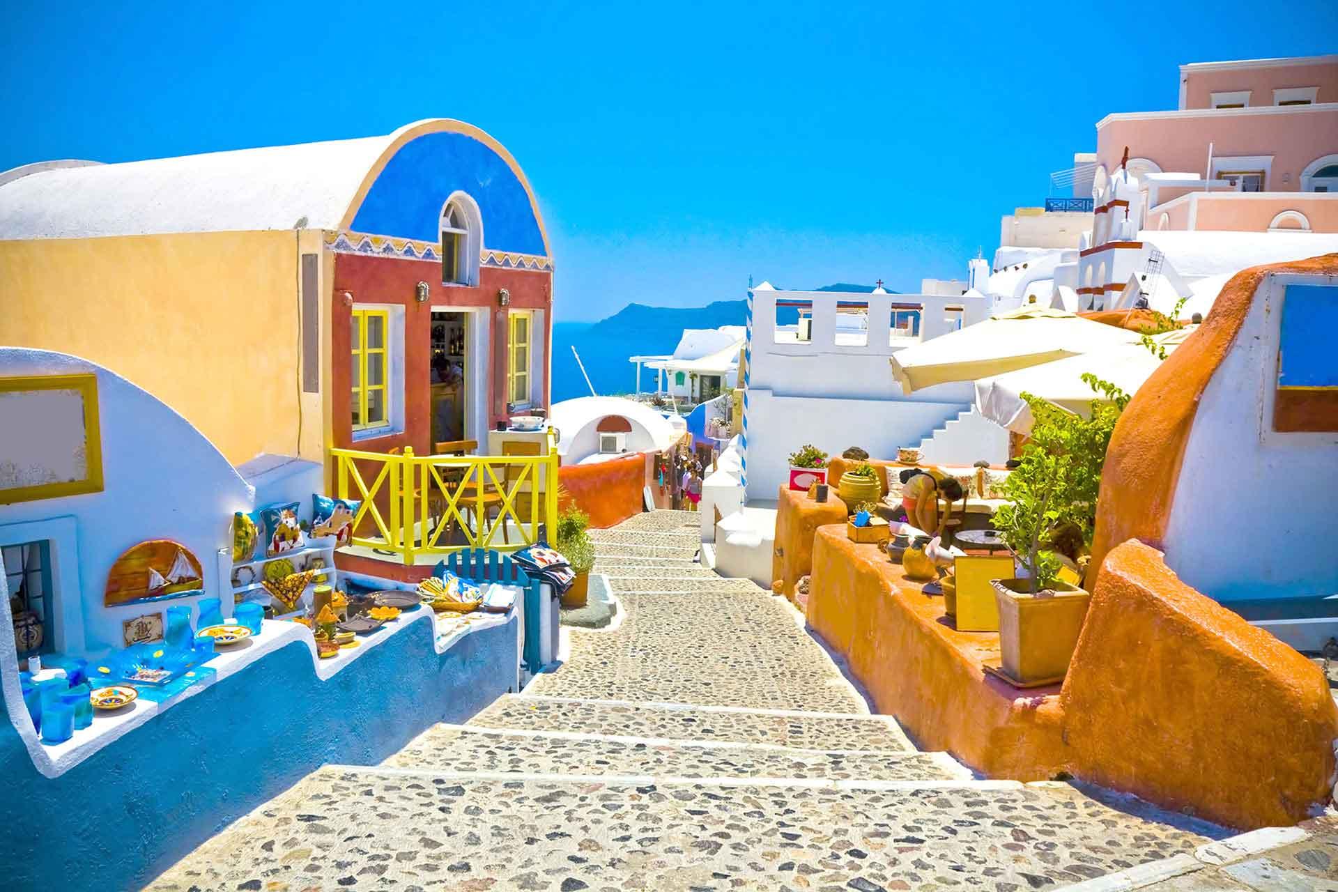 Greek Island Hopper, Santorini, Greece