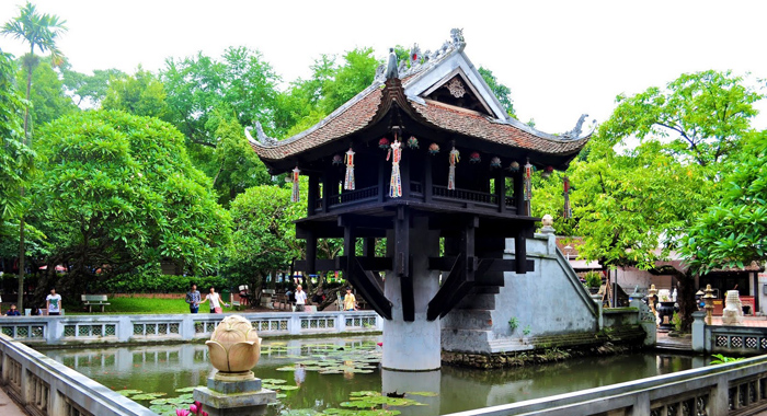 Hanoi, One Pillar Pagoda