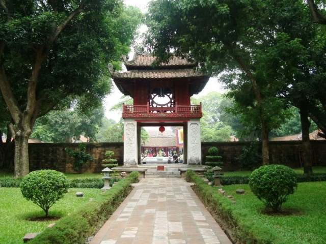 Hanoi, Temple of Literature