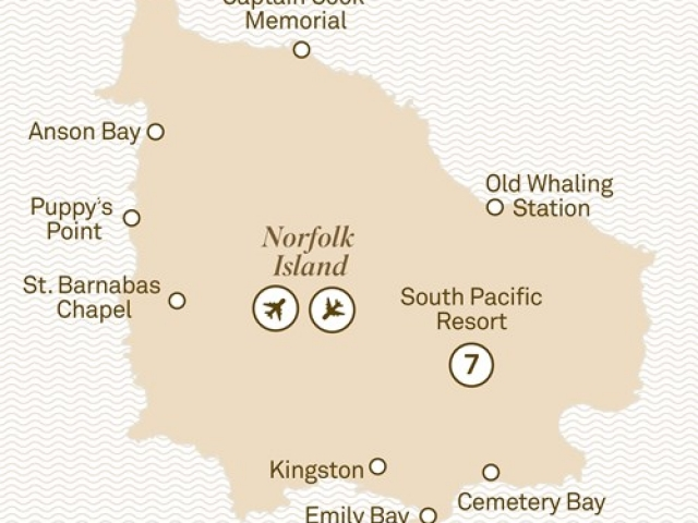 Norfolk Island, 8 Day Historic Norfolk Island Tour