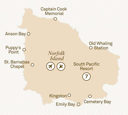 Norfolk Island, 8 Day Historic Norfolk Island Tour