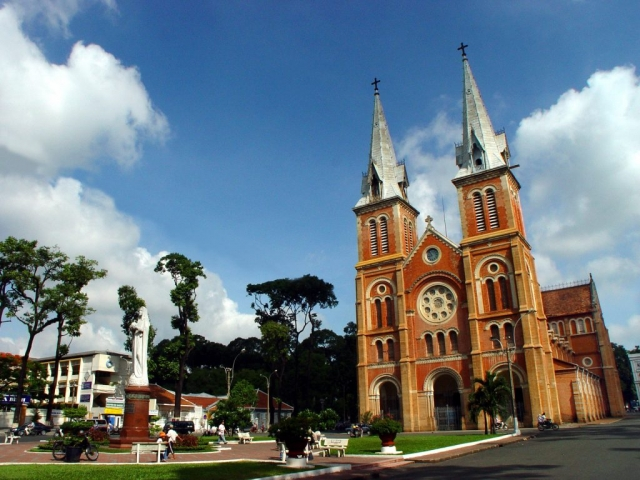 Ho Chi Minh City & Beyond, Ho Chi Minh City, Norte Dame Cathedral