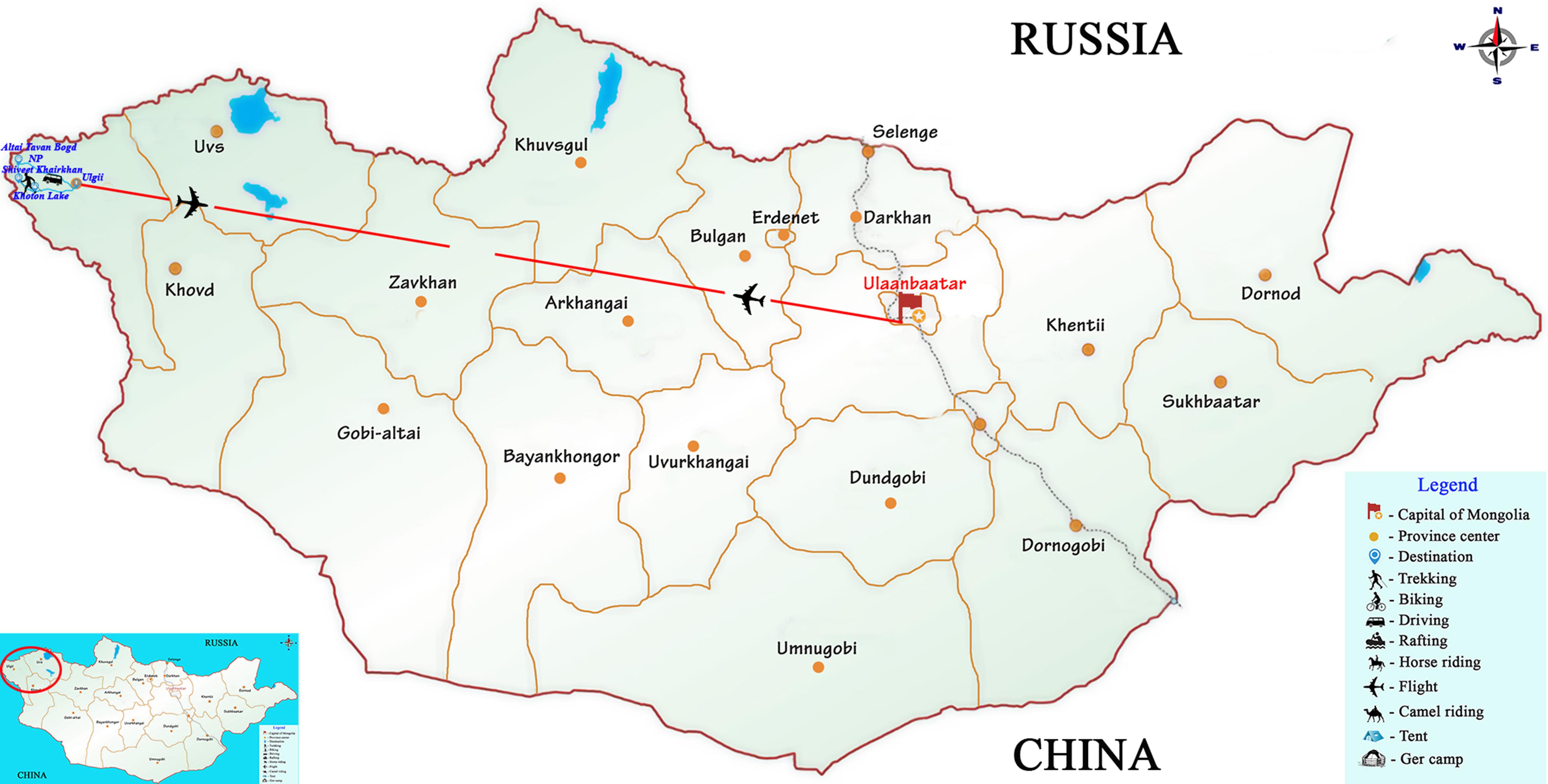 Mongolia, Holy Altai Inspiring Trail