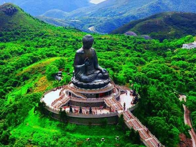 Hong Kong, Ngong Ping, Lantau Island, The Big Buddha