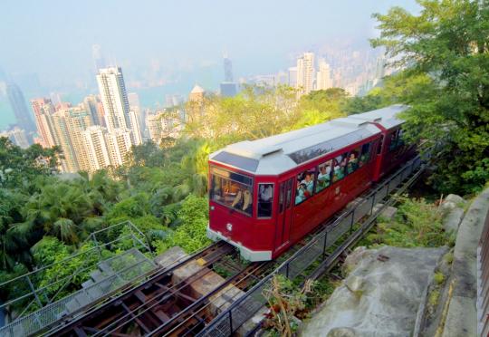 Hong Kong, The Peak Tram