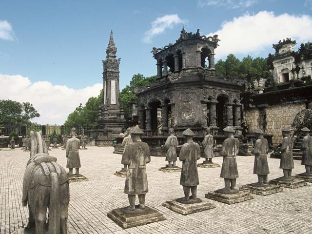 Hue, Emperor Khao Dinh Tomb