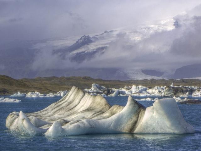 Gems of Iceland, Lake Jokulsarlon, Iceland