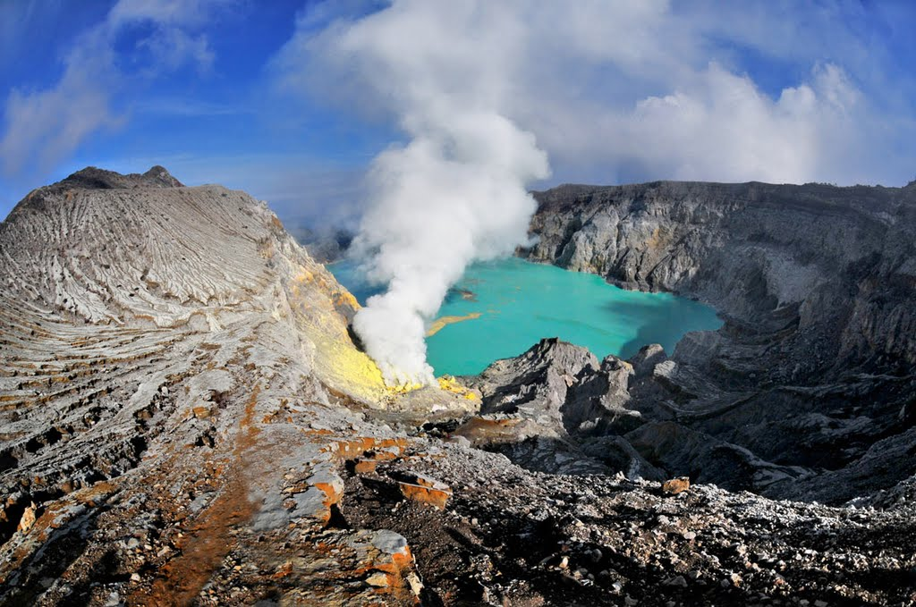 Java Temples to Volcanoes, Mount Ijen