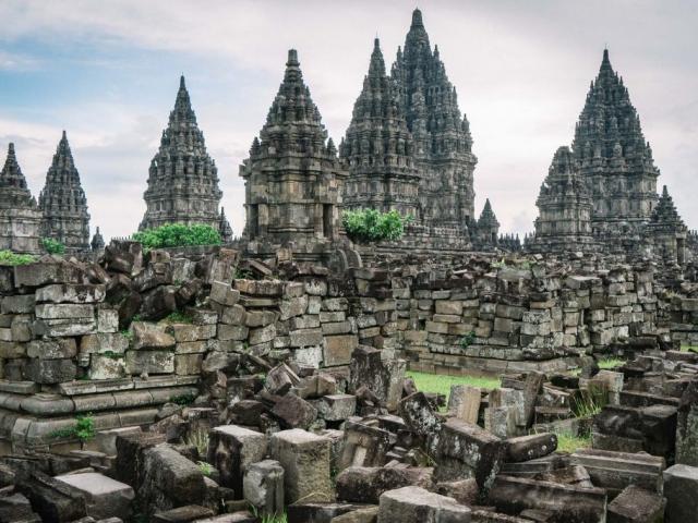 Indonesia, Yogyakarta, Prambanan Temple