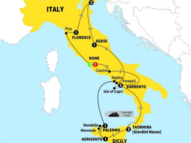 Italy, Best of Italy & Sicily