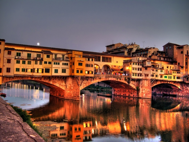 The Splendours Of Italy, Ponte Vecchio Bridge, Florence, Italy