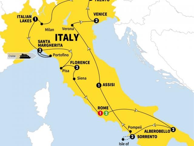 Italy, Grand Italian Experience