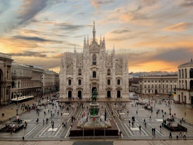 The Magic of the Italian Lakes, Gothic Duomo, Milan, Italy