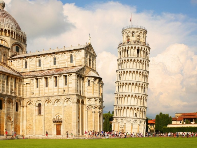 Italy, Pisa, Leaning Tower of Pisa
