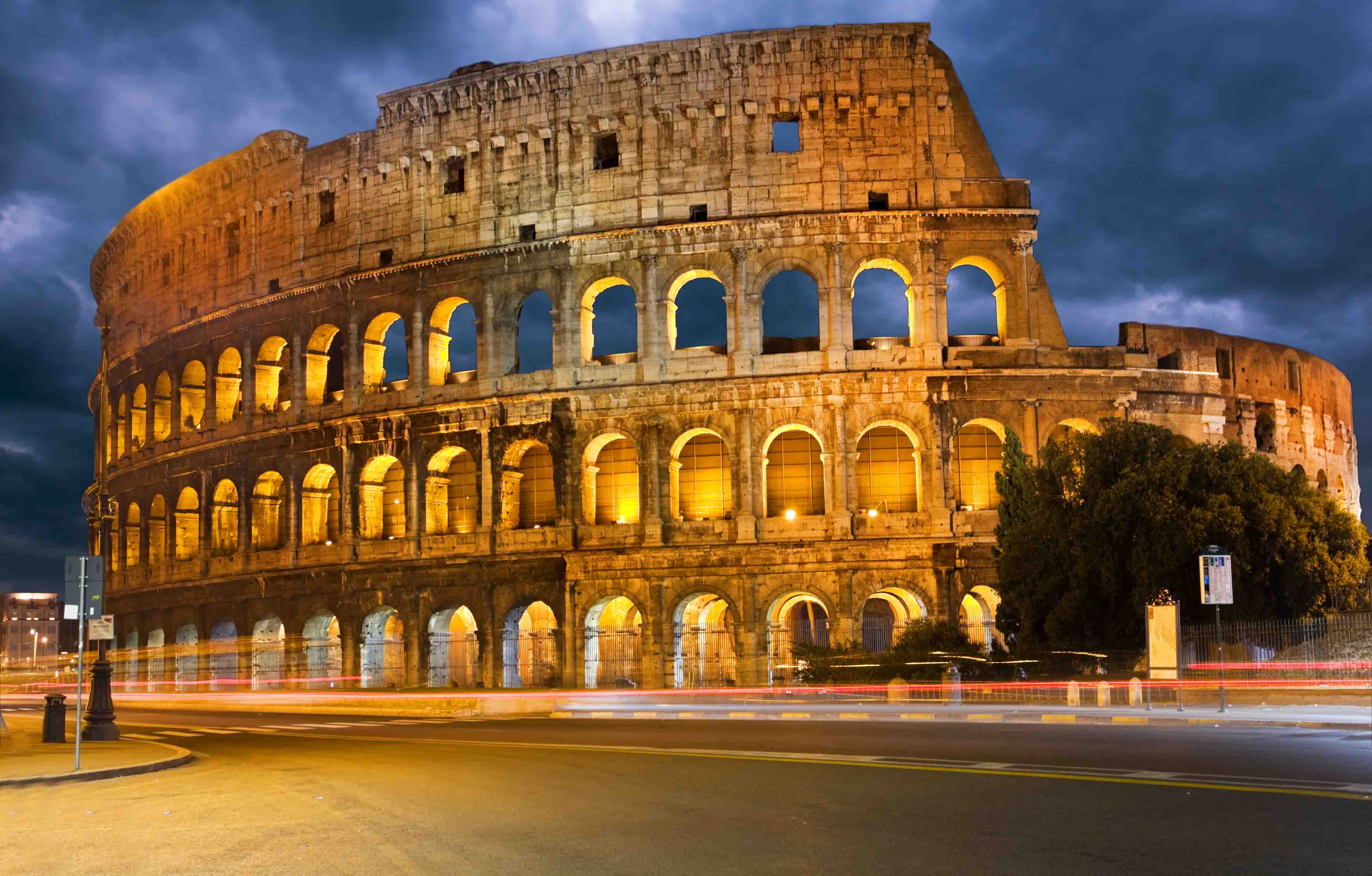 Rome, Florence & Venice, Colosseum, Rome, Italy