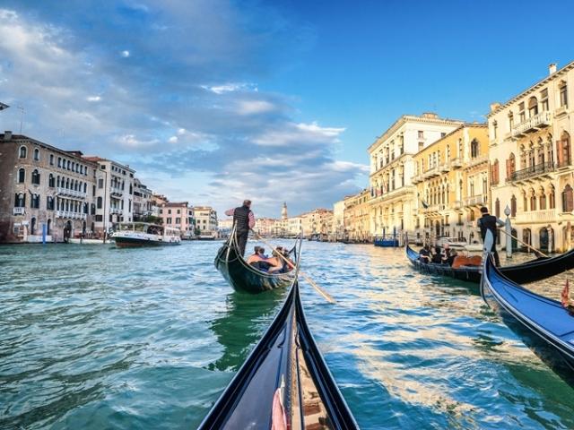 Italy, Venice, Gondola Ride