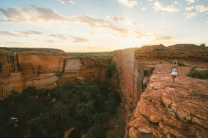 Uluru & Kings Canyon Discovery | Kings Canyon at sunrise, Central Australia, Northern Territory