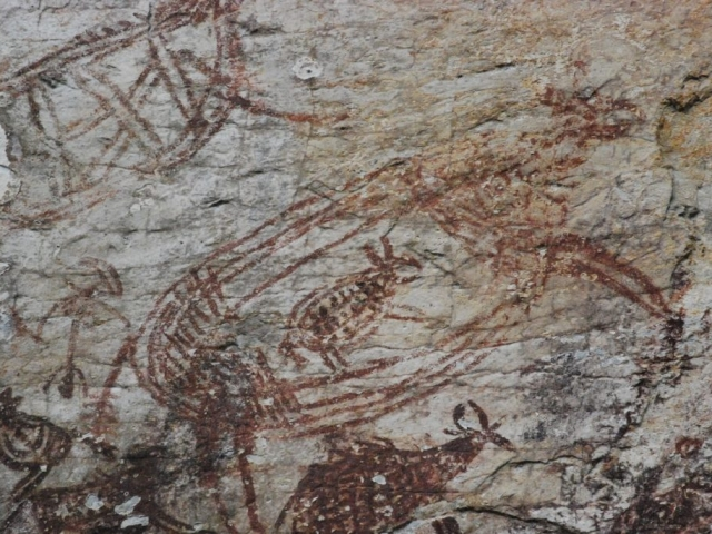 Malaysia, Ipoh 3000-year-old paintings
