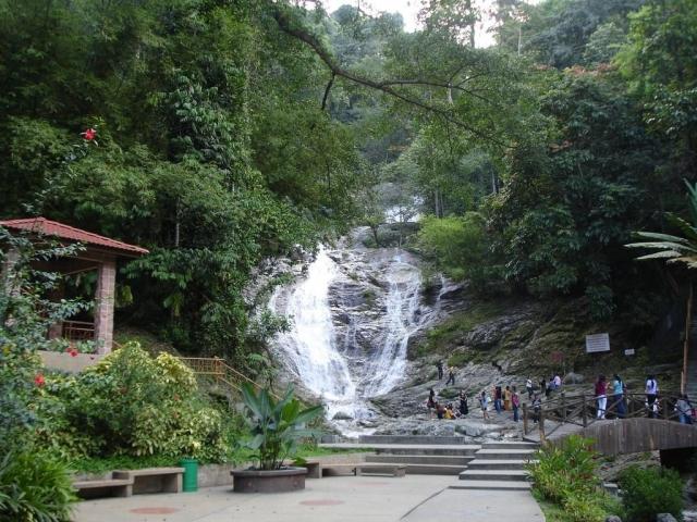 Cameron Highlands & Mt Brinchang, Lata Iskandar Waterfall