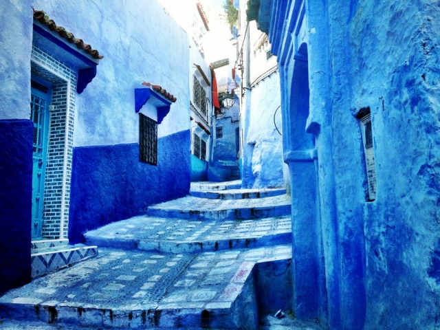 Morocco, Chefchouen, The Blue City