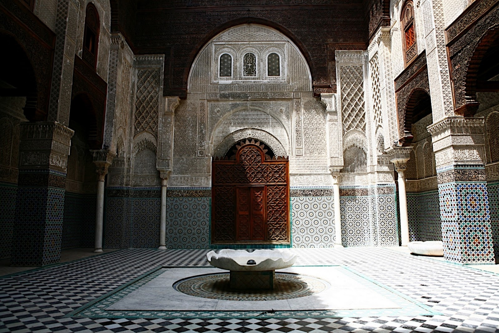 Imperial Cities Tour of Morocco, Fez, Al-Attarine Madrasa