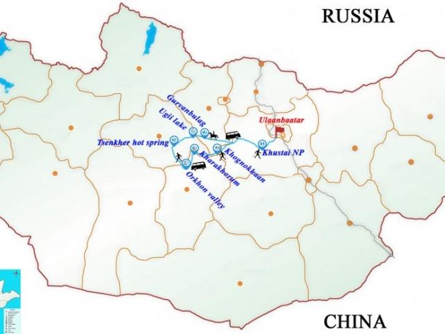 Mongolia, Nomadic impressions
