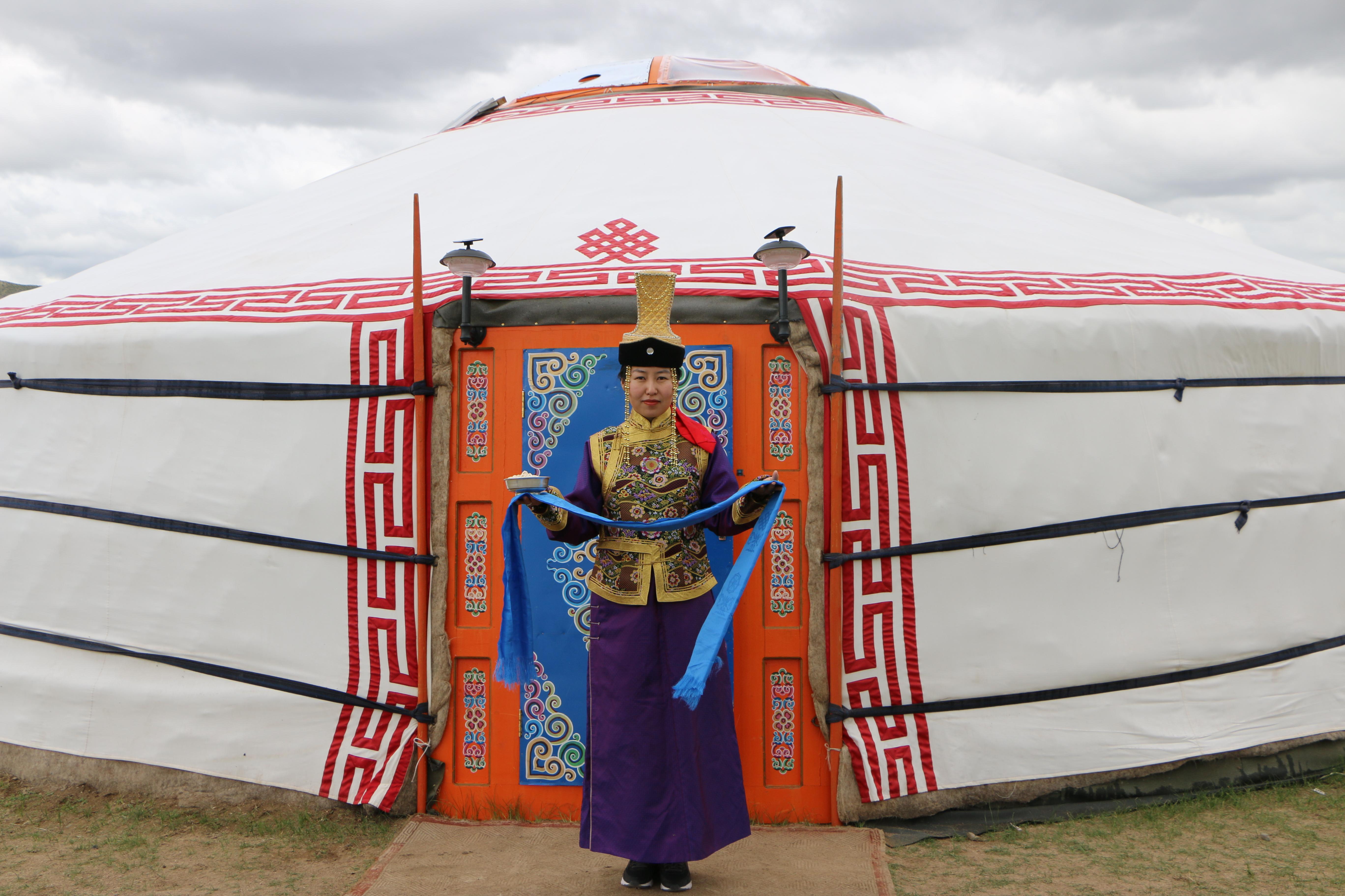 Mongolia, Nomadic Impressions, Ger Camp