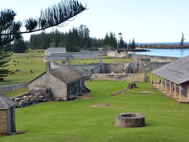 Norfolk Island, Kingston Convict Settlement