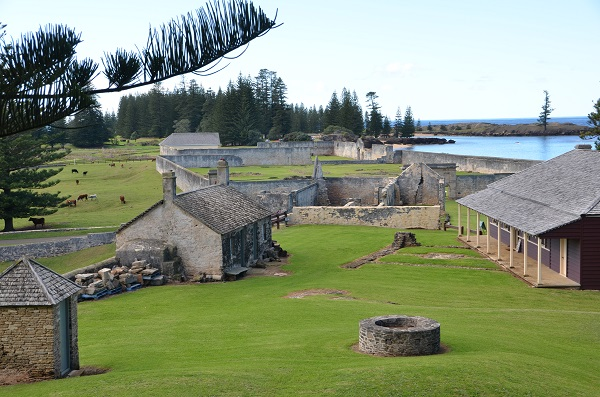 Norfolk Island, Kingston Convict Settlement