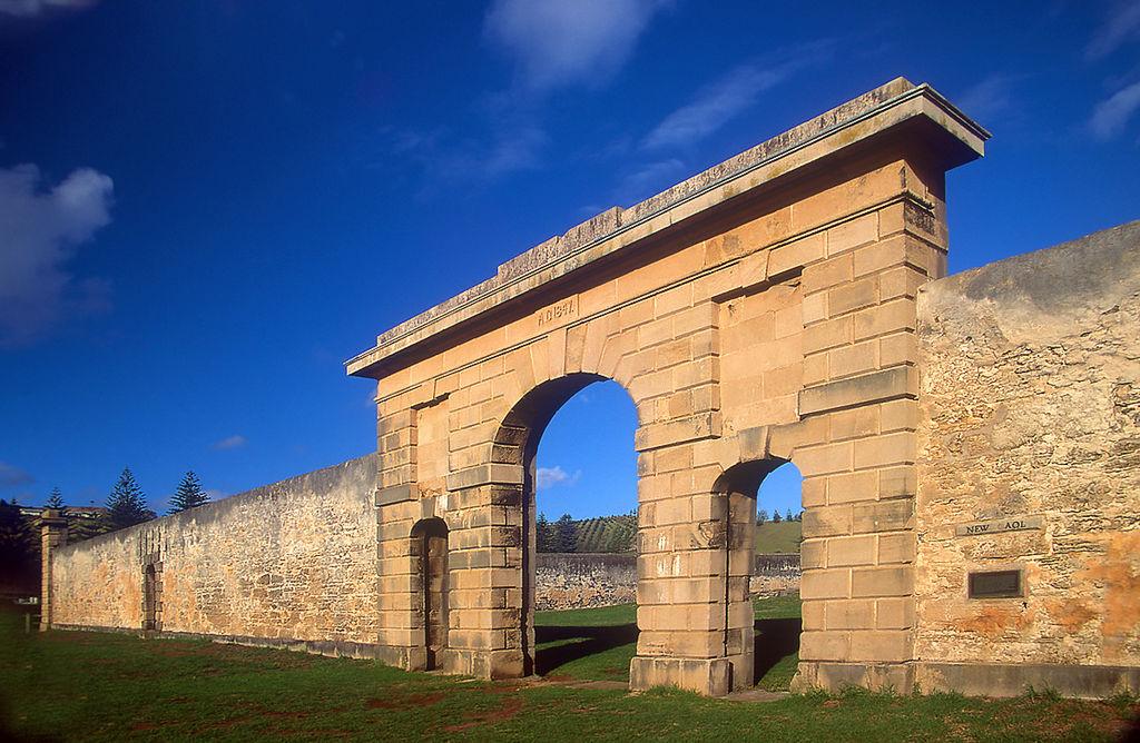 Norfolk Island, New Gaol Ruins