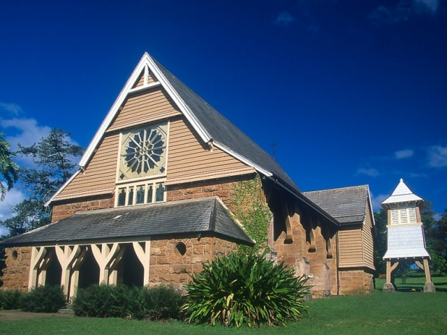 Norfolk Island, St Barnabus Chapel