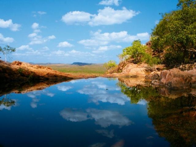 Northern Territory, Kakadu, Gunlom Falls