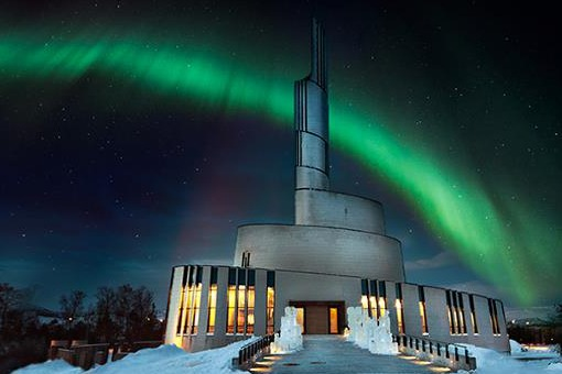 Nordic Adventure - Cathedral of the Northern Lights, Alta, Norway