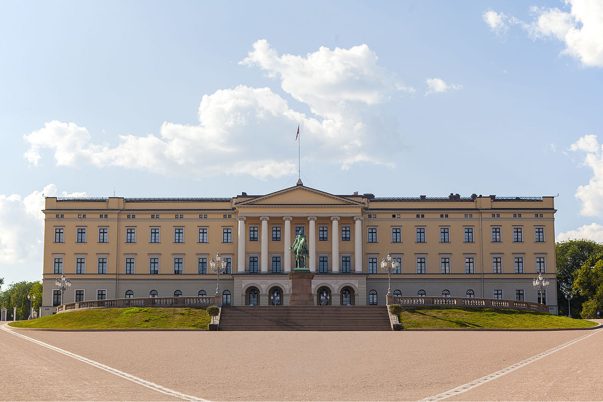 Scenic Norway - Royal Palace, Oslo, Norway