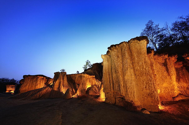 Historical Lanna Kingdom, Phae, Muang Phi Forest Park