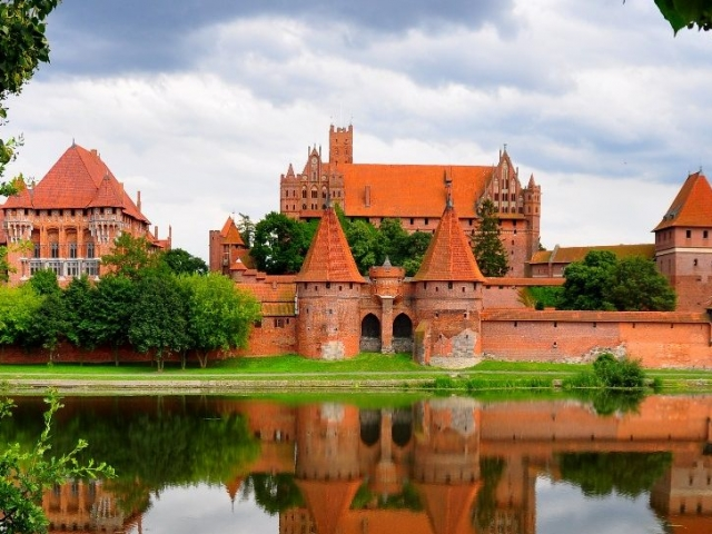 Poland, Malbork, Casle of the Teitonic Order in Malbork