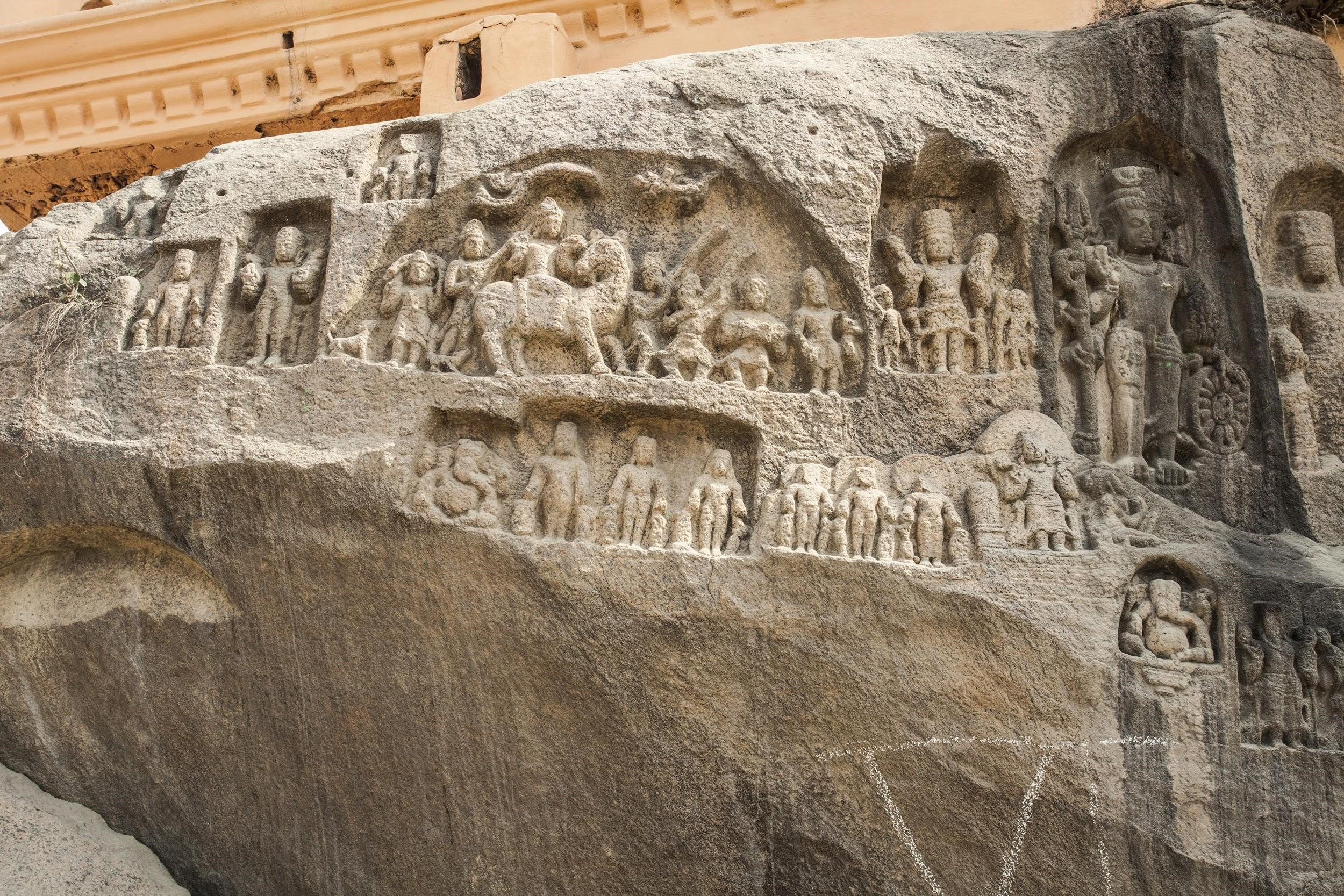 Shrine-jetties at Sultanganj. Circa sixth century AD