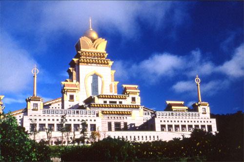Taiwan, Puli, Chung Tai Chan Monastery