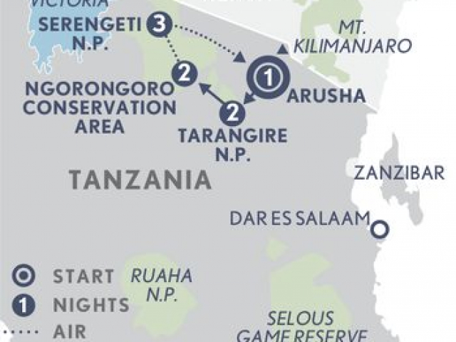 Tanzania Under Canvas Safari