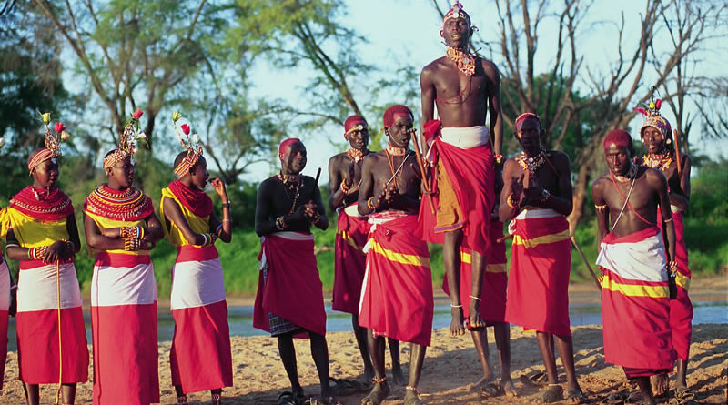 Kenya, Masai Mara Tribe