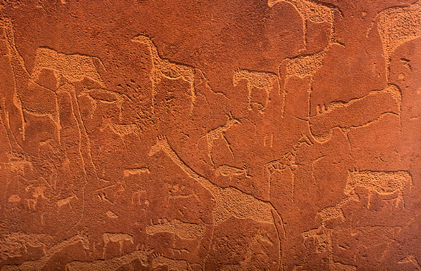 Highlights of Namibia, Twyfelfontein, Rock Carvings